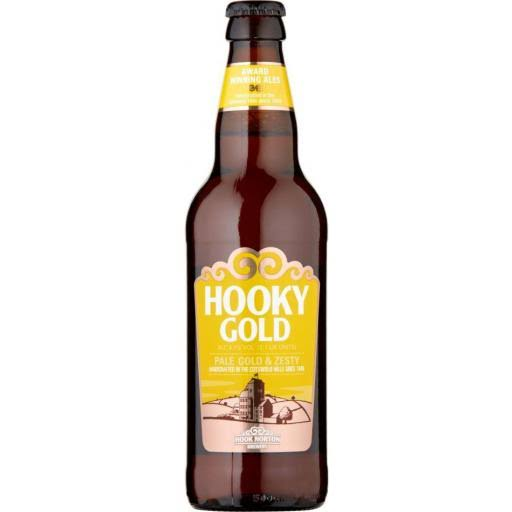 Hook Norton Brewery Hooky Gold Beer - 500ml