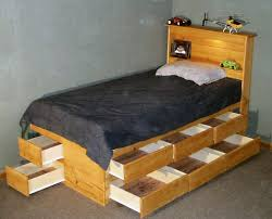 endearing plans for bed with drawers underneath and best 25