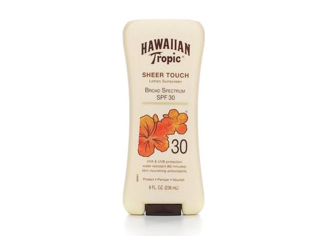 Hawaiian Tropic Sheer Touch Sunblock Lotion - 236ml, SPF 30+