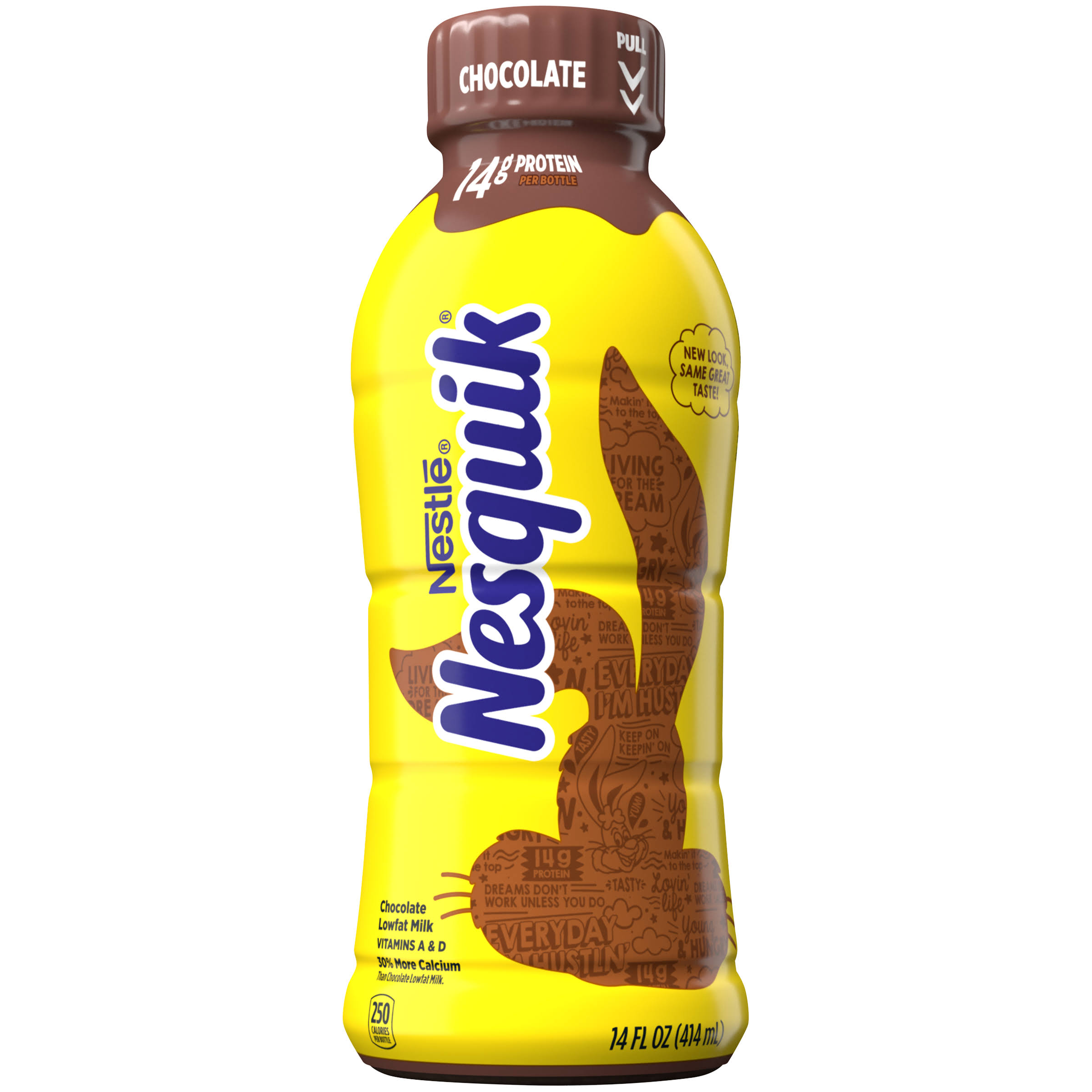 Nestle Nesquik Lowfat Milk - Chocolate, 14oz