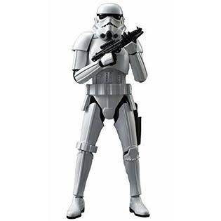 Bandai Star Wars Building Kit - Stormtrooper Soldier, 1/12 Scale