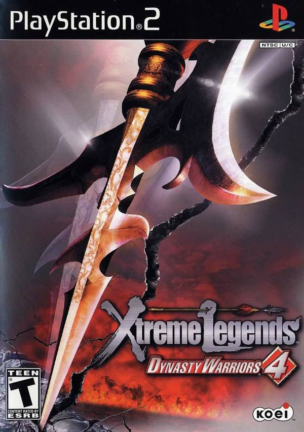 Dynasty Warriors 4 Xtreme Legends - Playstation 2