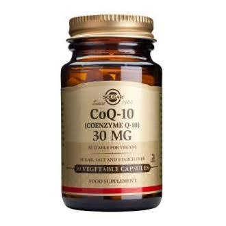 Solgar CoQ-10 30mg Food Supplement - 30 Capsules