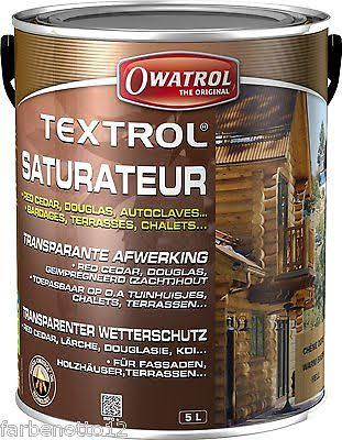 Owatrol Textrol Saturateur - 5l