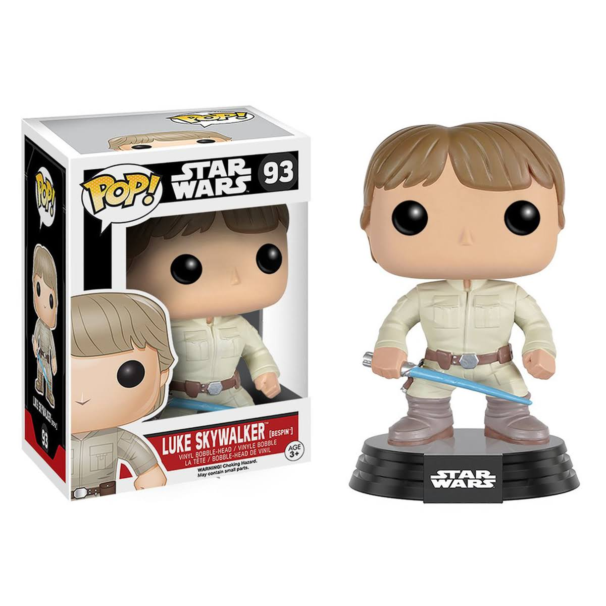 Funko Pop! Star Wars Vinyl Figurine - Luke Skywalker, 10cm