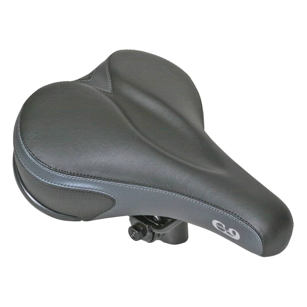 Sunlite Cloud-9 Men's Comfort Soft Touch Vinyl Wr Suspension Saddle