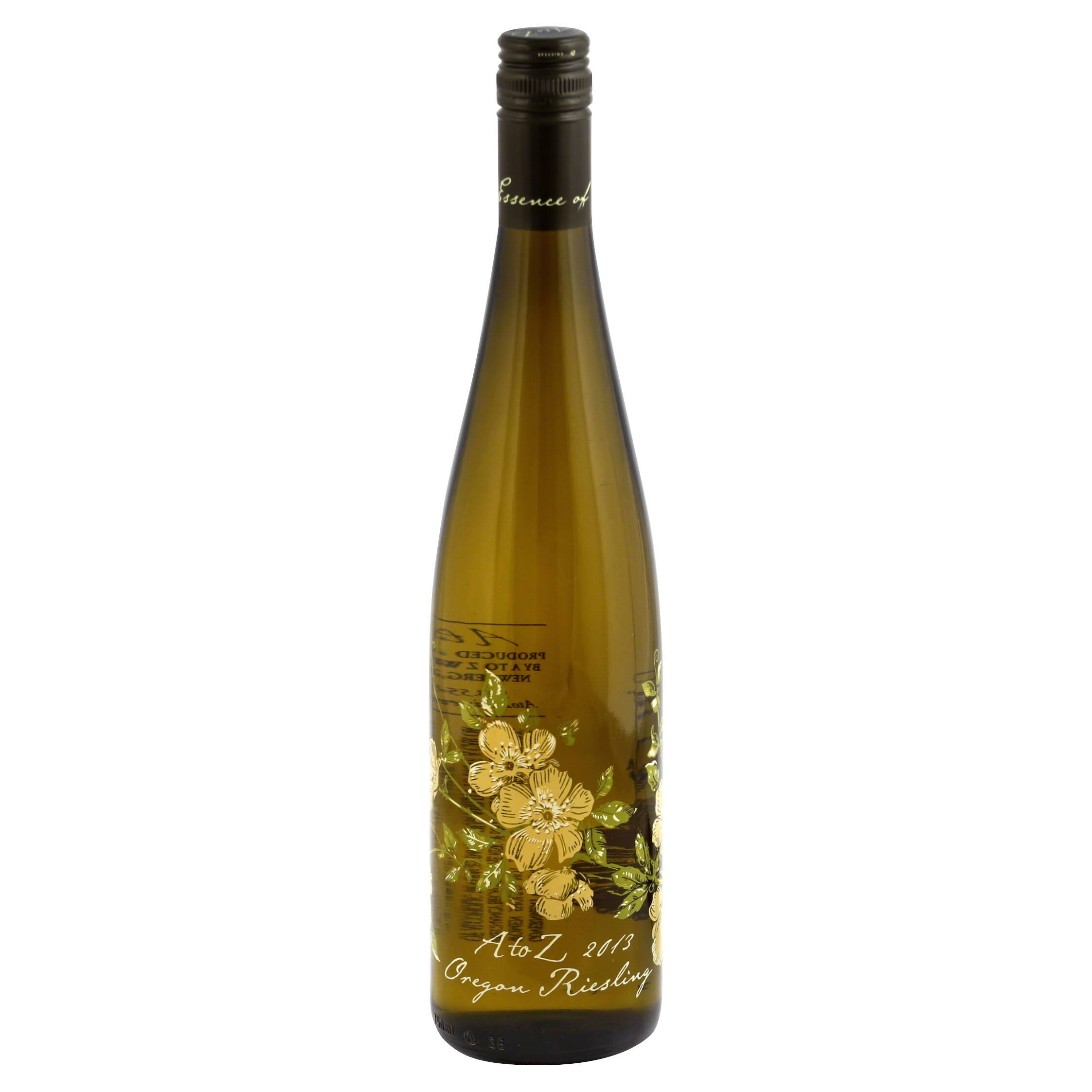 A to Z Riesling, Oregon, 2013 - 750 ml