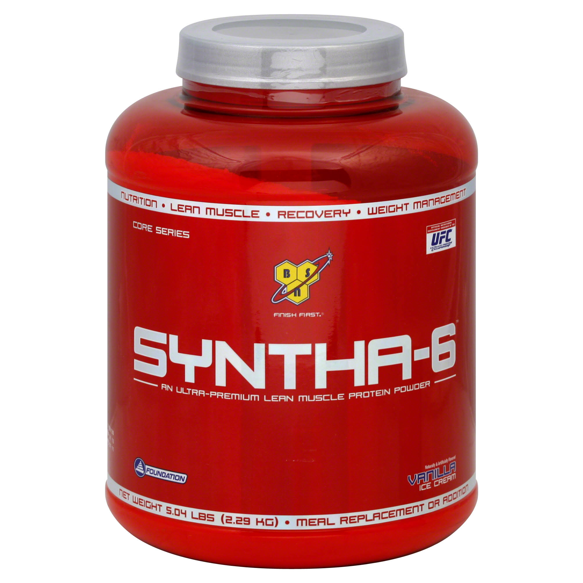 BSN Syntha-6 Protein Powder - Vanilla Ice Cream