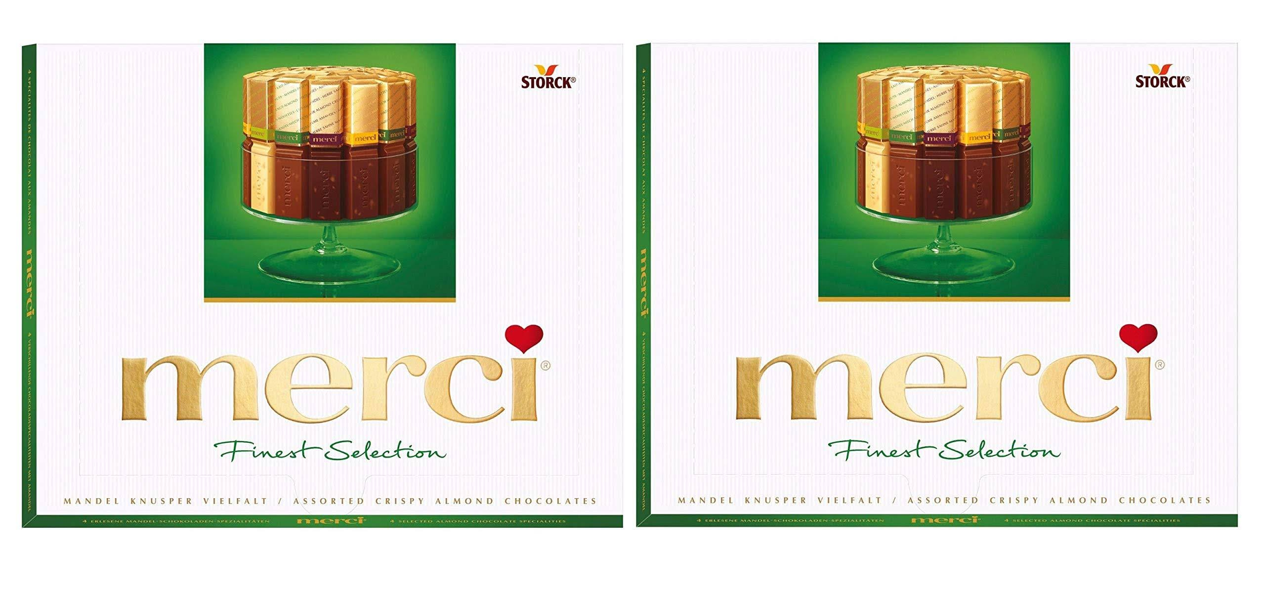 Merci European Chocolates Green Assorted 8.8oz
