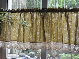 Ebay Curtains 108 Drop by French Country Floral Rose Cafe Kitchen Curtain Valance 008