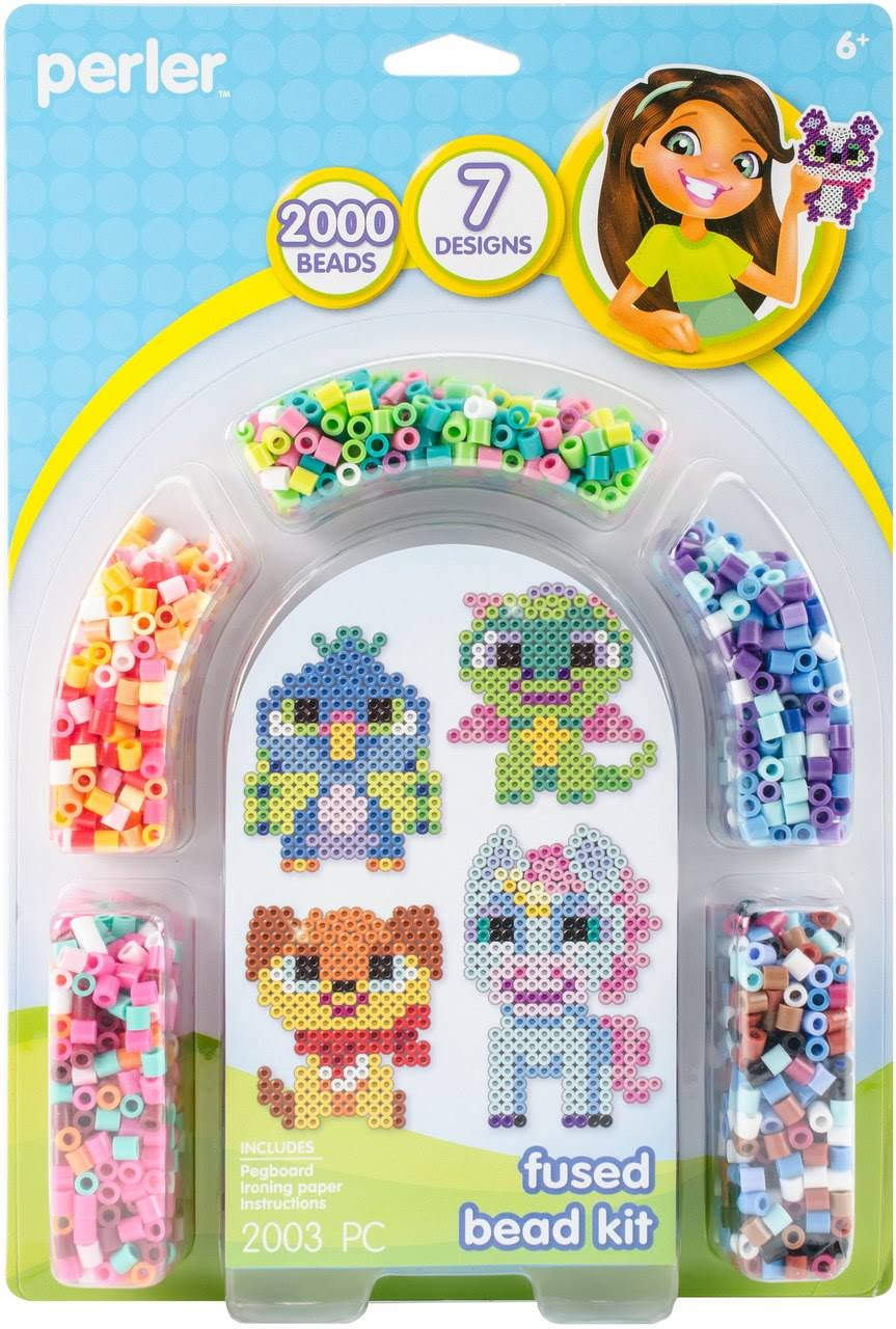 Perler Beads - 2000pc Set -fanciful Friends