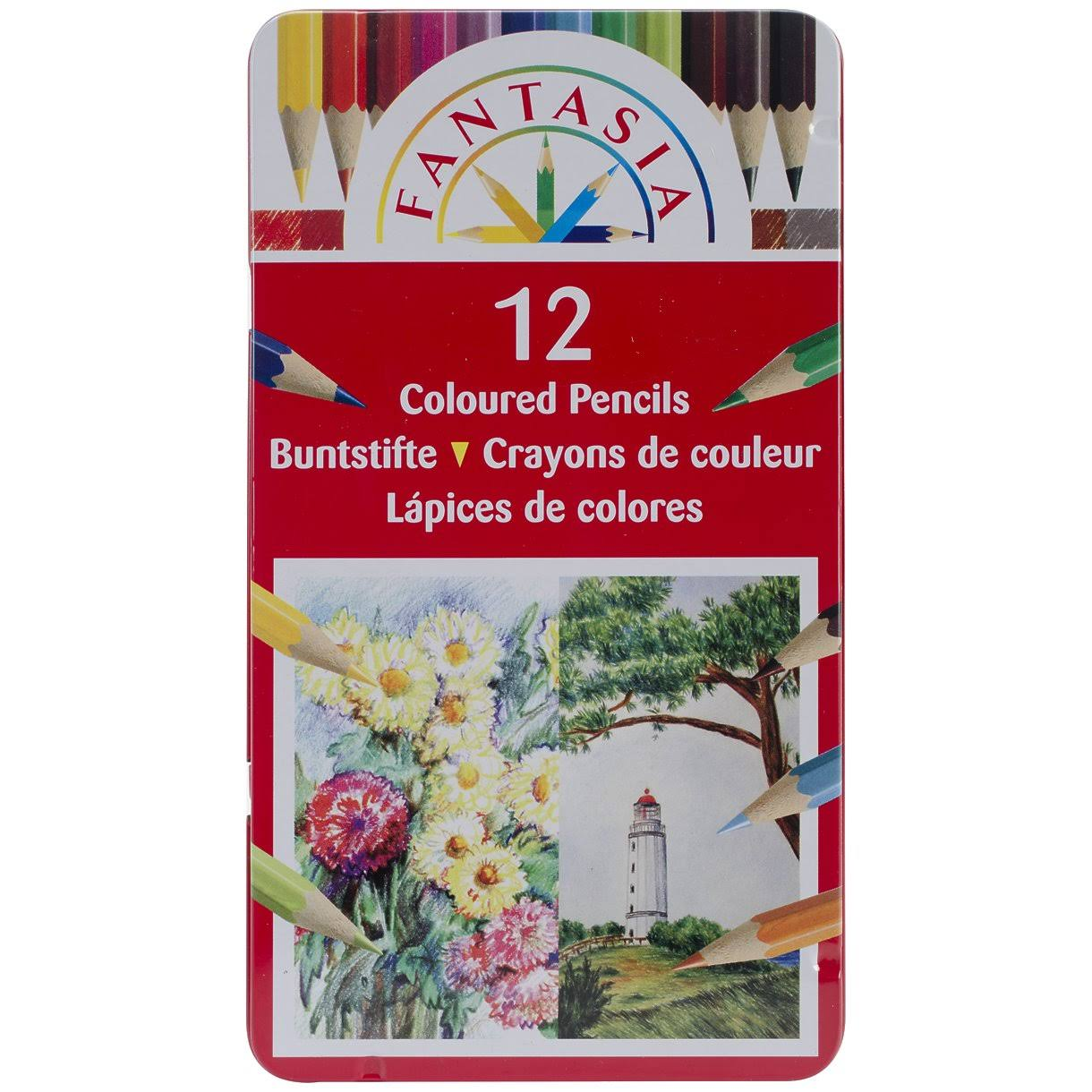 Pro Art Fantasia Colored Pencils - 12pk