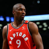 Serge Ibaka gives a clue about his future with the Toronto...