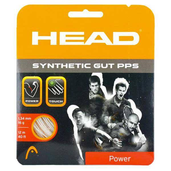 Head Synthetic Gut PPS Tennis String - White, 16g