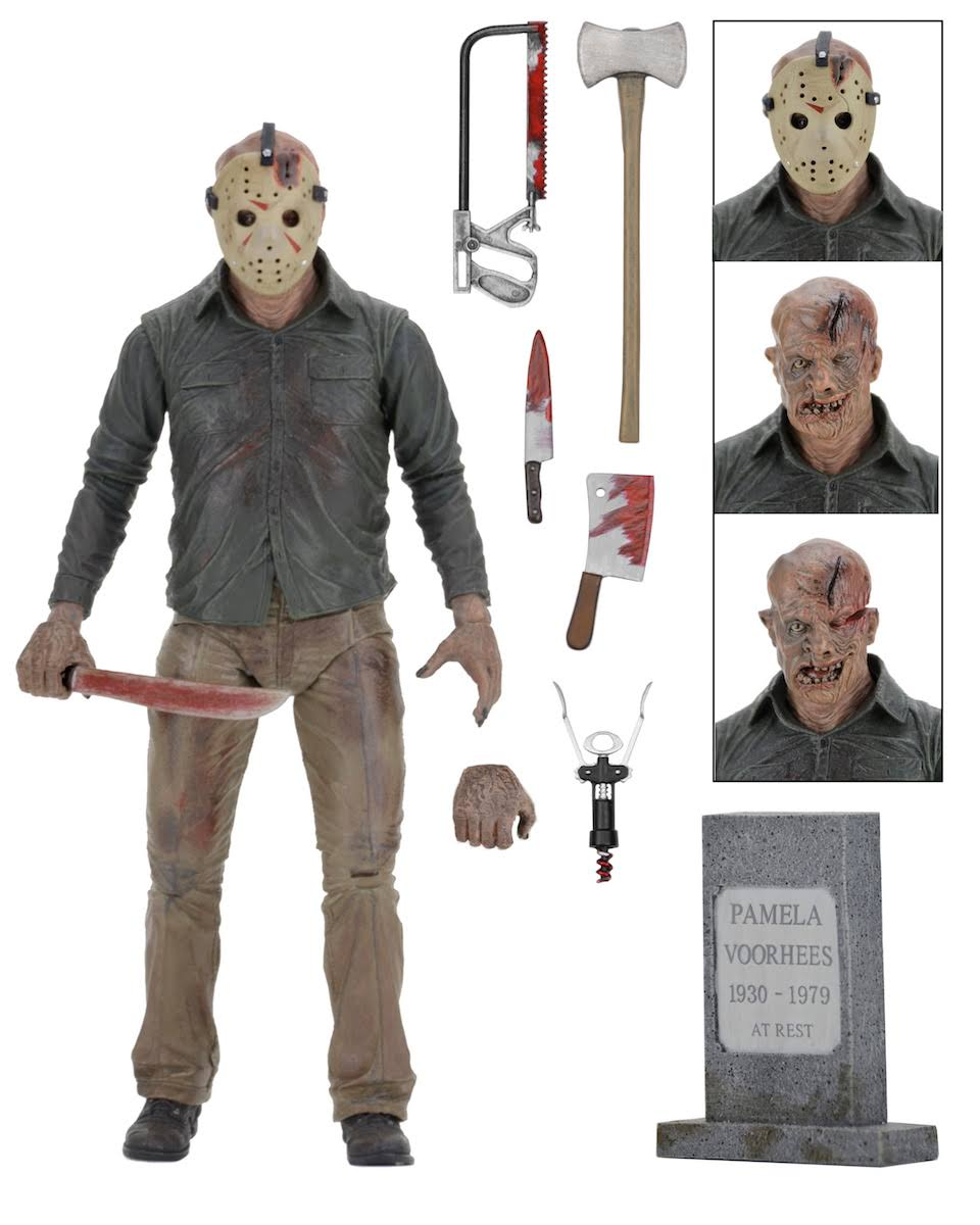Friday The 13th Part 4: Deluxe Action Figure: Ultimate Jason