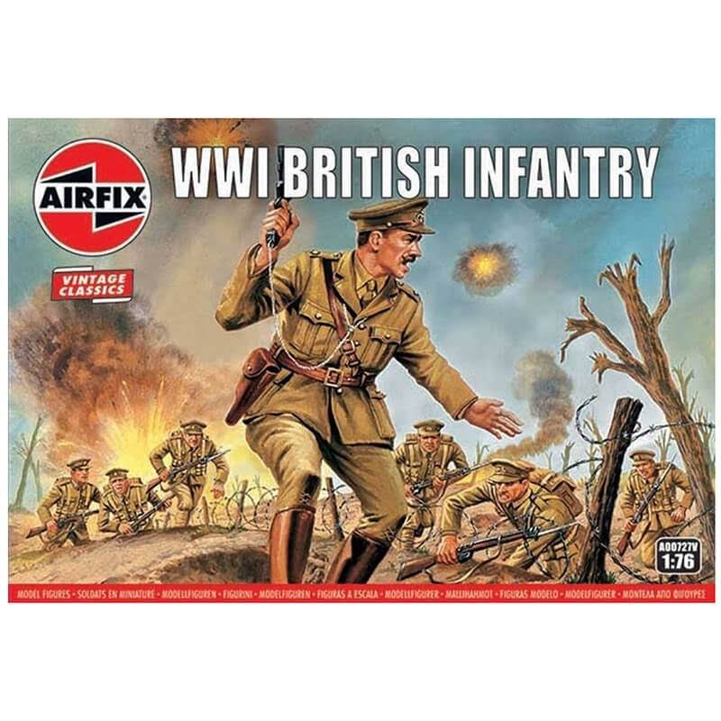 Airfix A00727V WW1 British Infantry Figures - 1:76 Scale