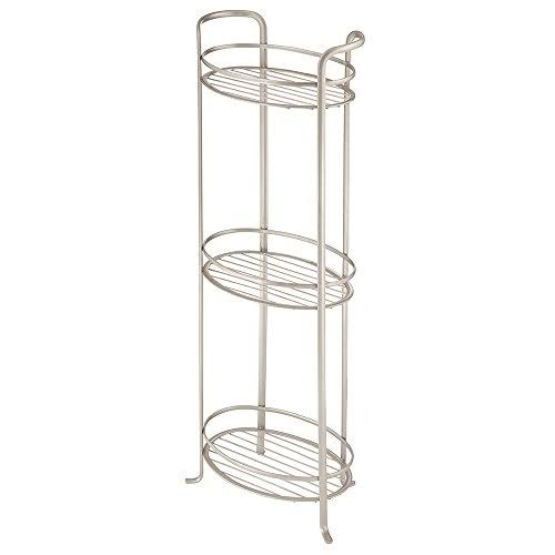 InterDesign Axis Free Standing Shower Shelf - 3 Tier