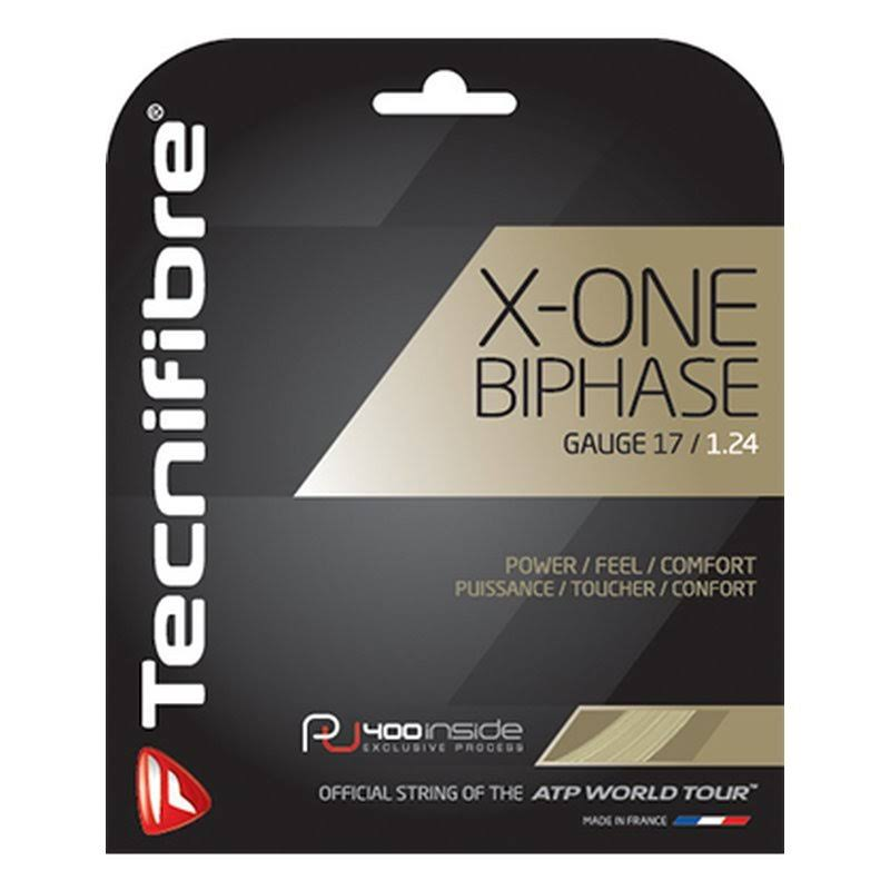Tecnifibre X-One Biphase Racquet String - 1.24mm