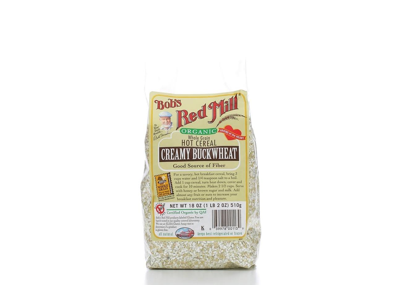 Bobs Red Mill Hot Cereal - Creamy Buckwheat, 18oz