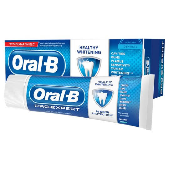 Oral-B Pro Expert Healthy Whitening Toothpaste - 75ml