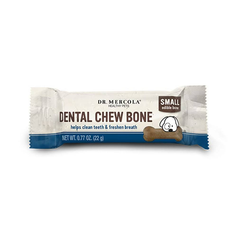 Dr Mercola Dental Chew Bones for Dogs Small