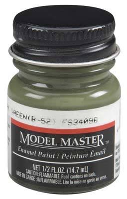 Testors Model Master Enamel Paint - Dark Green