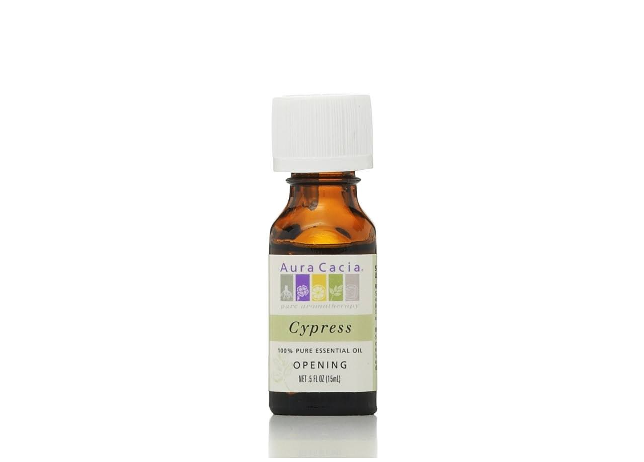 Aura Cacia Essential Solutions Oil - Cypress