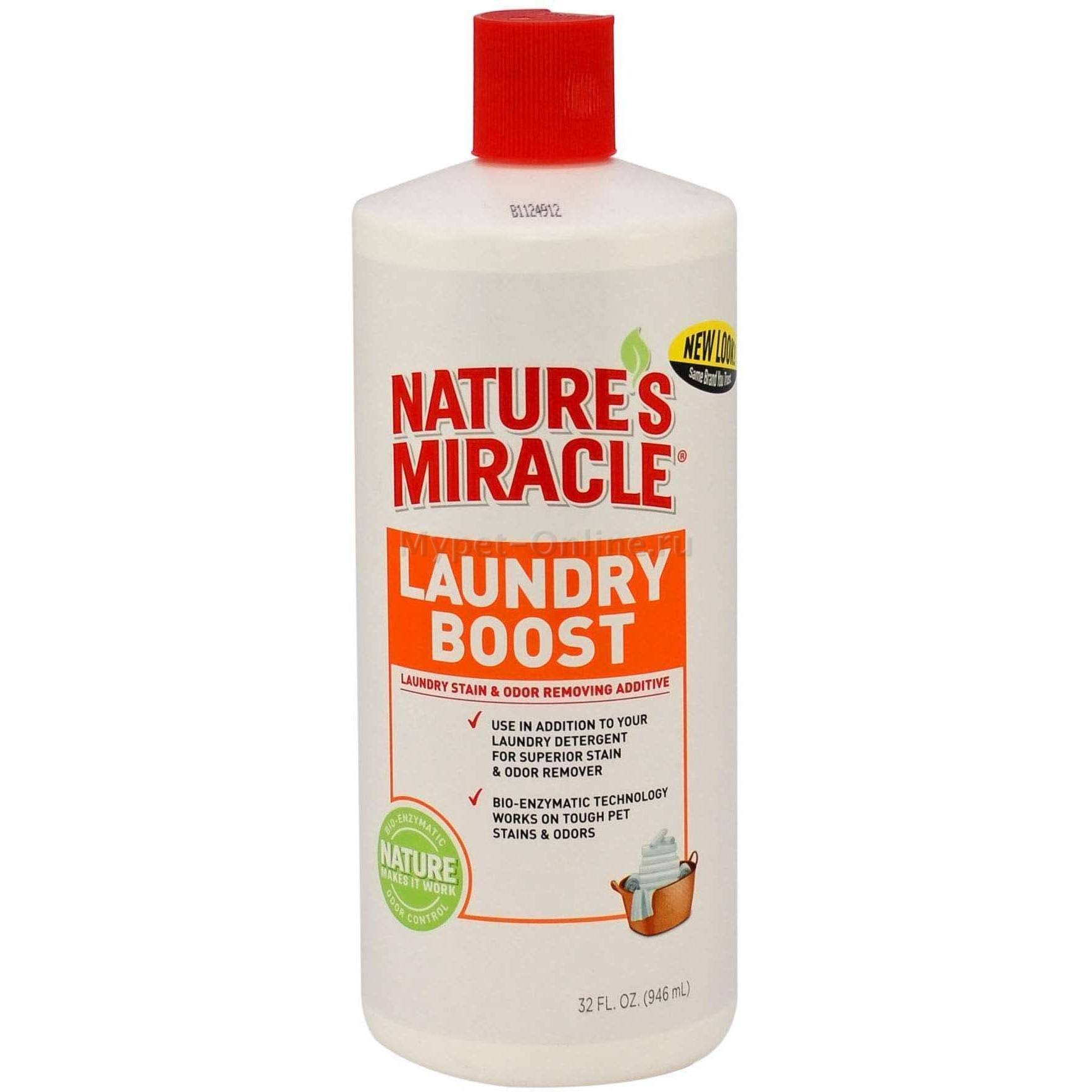 Nature's Miracle Laundry Boost Stain & Odor Removing Additive - 348ml