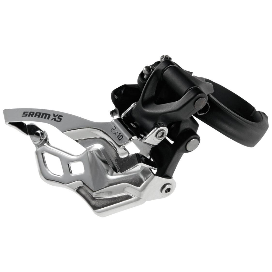SRAM X.5 Front Derailleur - 9mm, 3x10, for 10 Speed Chains