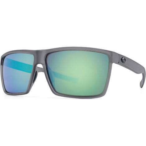 Costa Del Mar RIN 156 Rincon Rectangular Sunglasses - Green Mirror