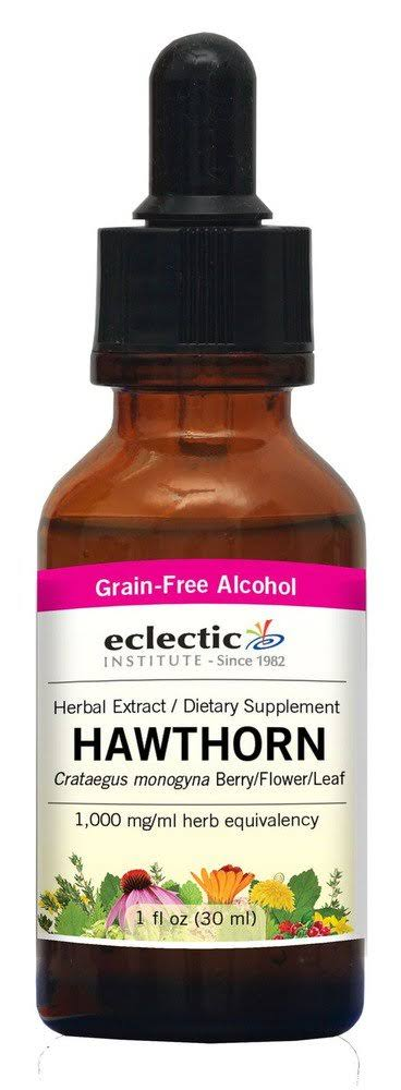 Eclectic Institute Hawthorn Extract - 1 oz - Liquid