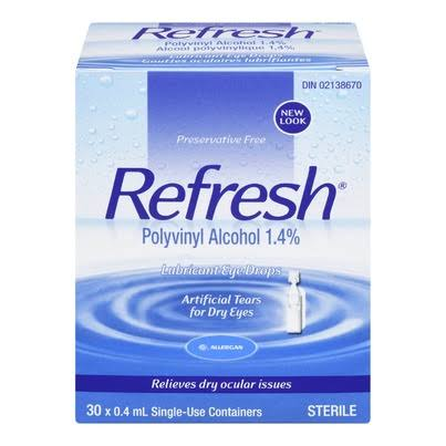 False Allergan Refresh Artificial Tears 30/.4ml