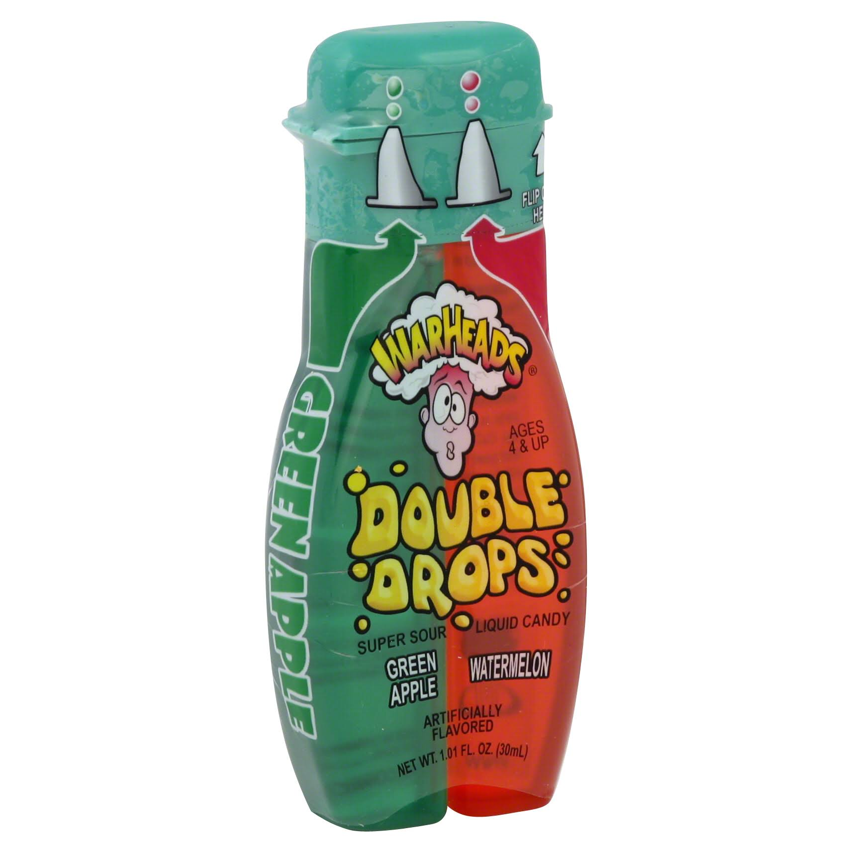 Warheads Double Drops Liquid Candy