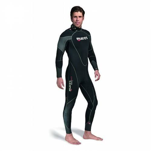 Mares Flexa Men's One Piece Wetsuit - Black and Gray, Large