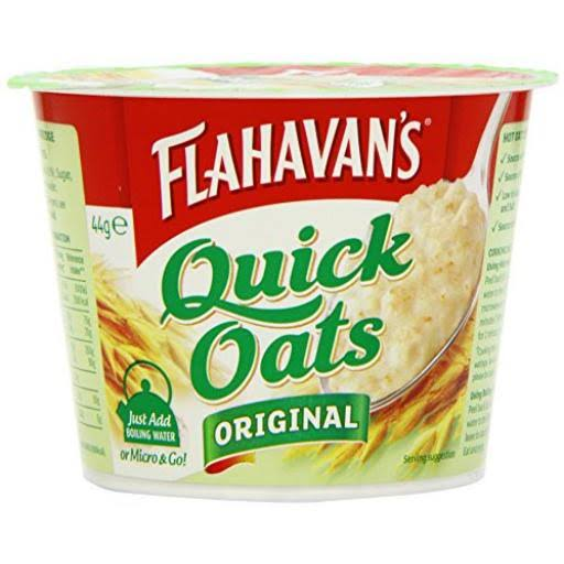 Flahavans Quick Oats Portable Porridge - 44g