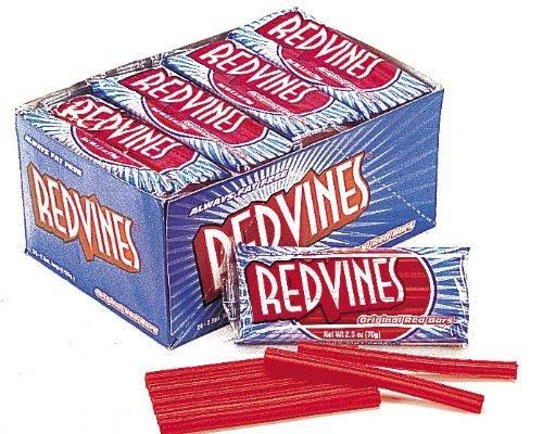 Red Vines Licorice Candy - 2.5 oz packet