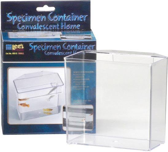 Lee's Aquarium & Pet Products Specimen Container - Clear