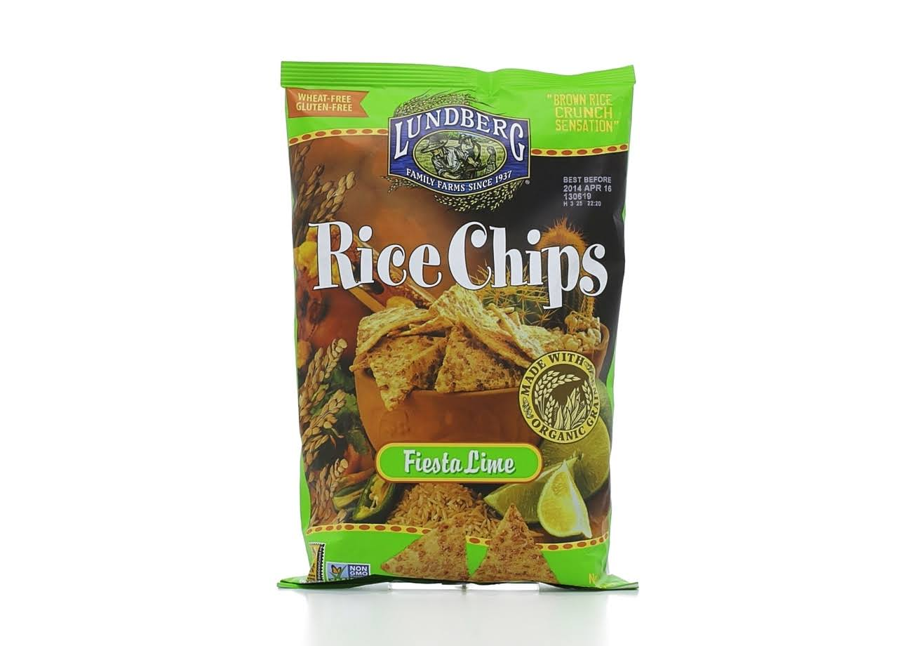 Lundberg Rice Chips - Fiesta Lime