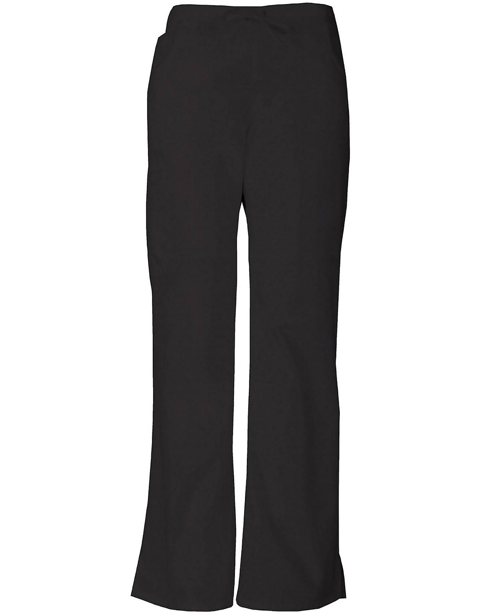 Dickies Women's Petite EDS Signature Scrubs Drawstring Cargo Pants - Black, Medium Petite