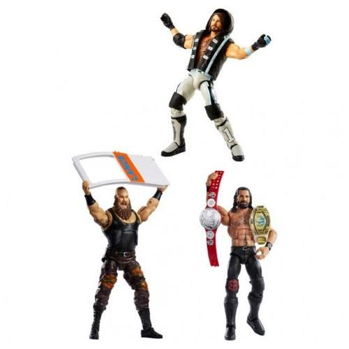 WWE Top Picks Elite Collection Action Figure Assortment Parent, Multicolor