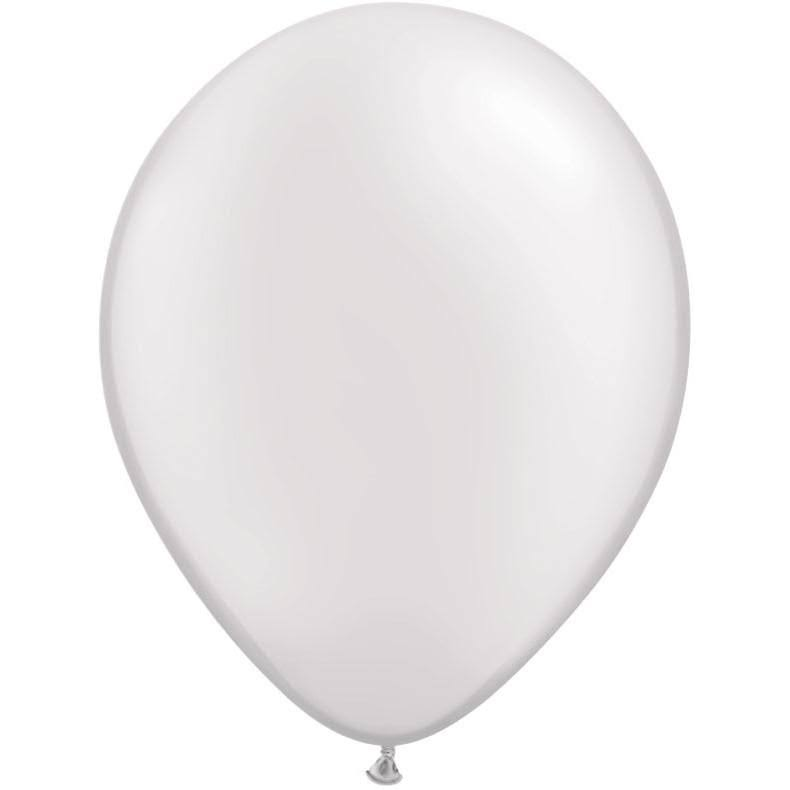 Qualatex Latex Balloon - Pearl White, 11""