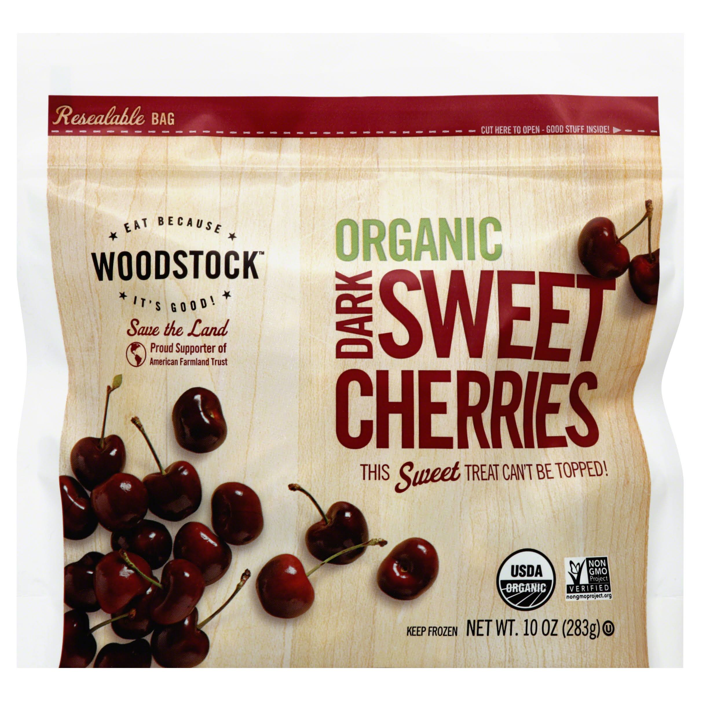 Woodstock Cherries, Organic, Dark Sweet - 10 oz