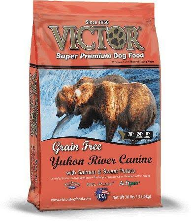 Victor Grain Yukon River Salmon and Sweet Potato Dog Food - 15lb
