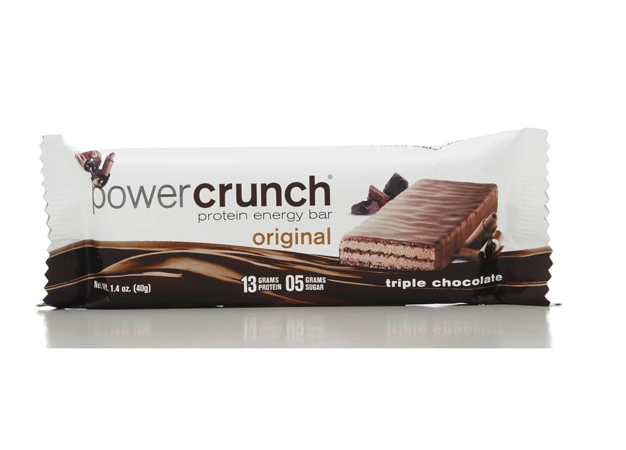 Power Crunch High Protein Energy Bar - Triple Chocolate