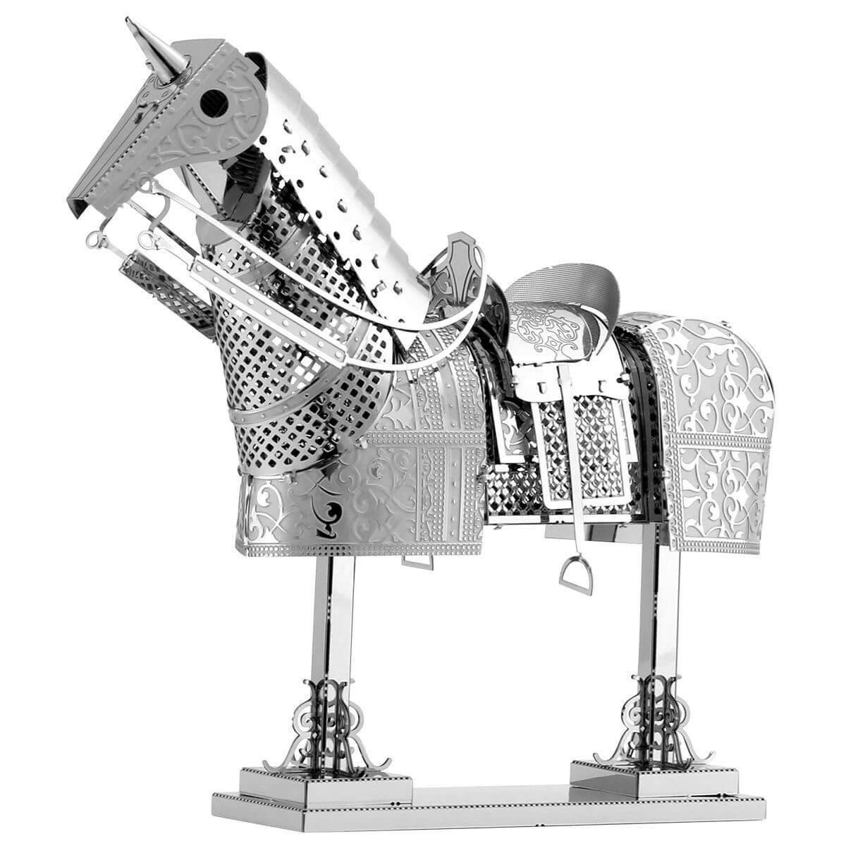 Fascinations Horse Armor Metal Earth Model Kit - Scale 1:43