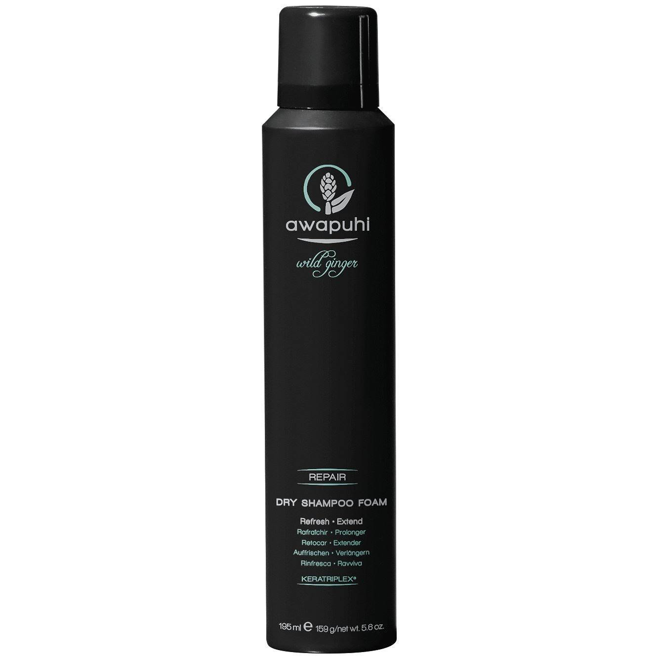 Paul Mitchell Awapuhi Wild Ginger Repair Dry Shampoo Foam - 5.6oz