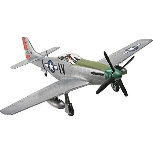 Revell #1374 P-51D Mustang Plastic Model Kit - 1/72 Scale