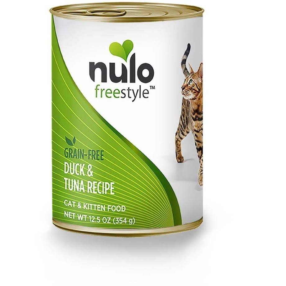 Nulo Grain Canned Wet Cat Food - Duck and Tuna, 12.5oz