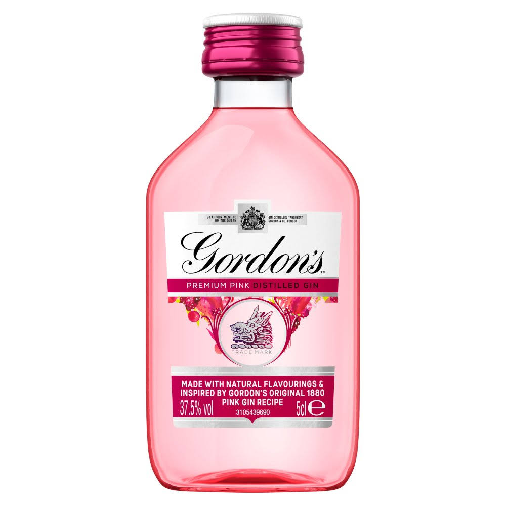 Gordon's Premium Pink Distilled Gin - 50ml