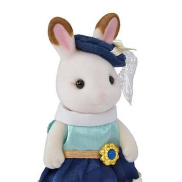 Calico Critters Town Girl Series Plush Toy - Stella Hopscotch Rabbit